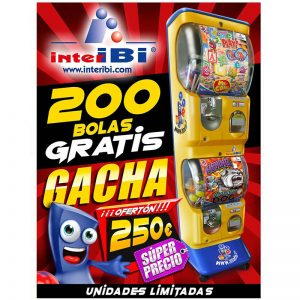 Bolas Gacha 200 gratis