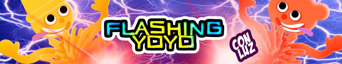 FLASHING YOYO BANNER
